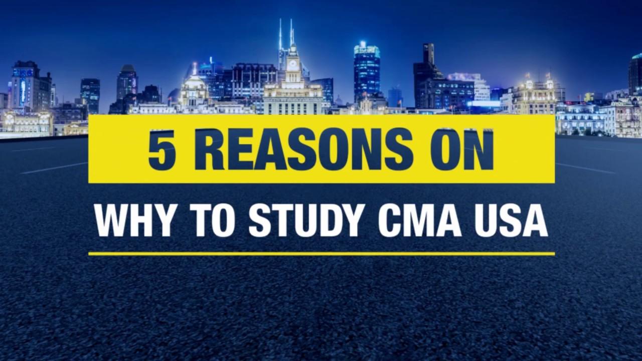Why to study CMA USA ? | 5 reasons