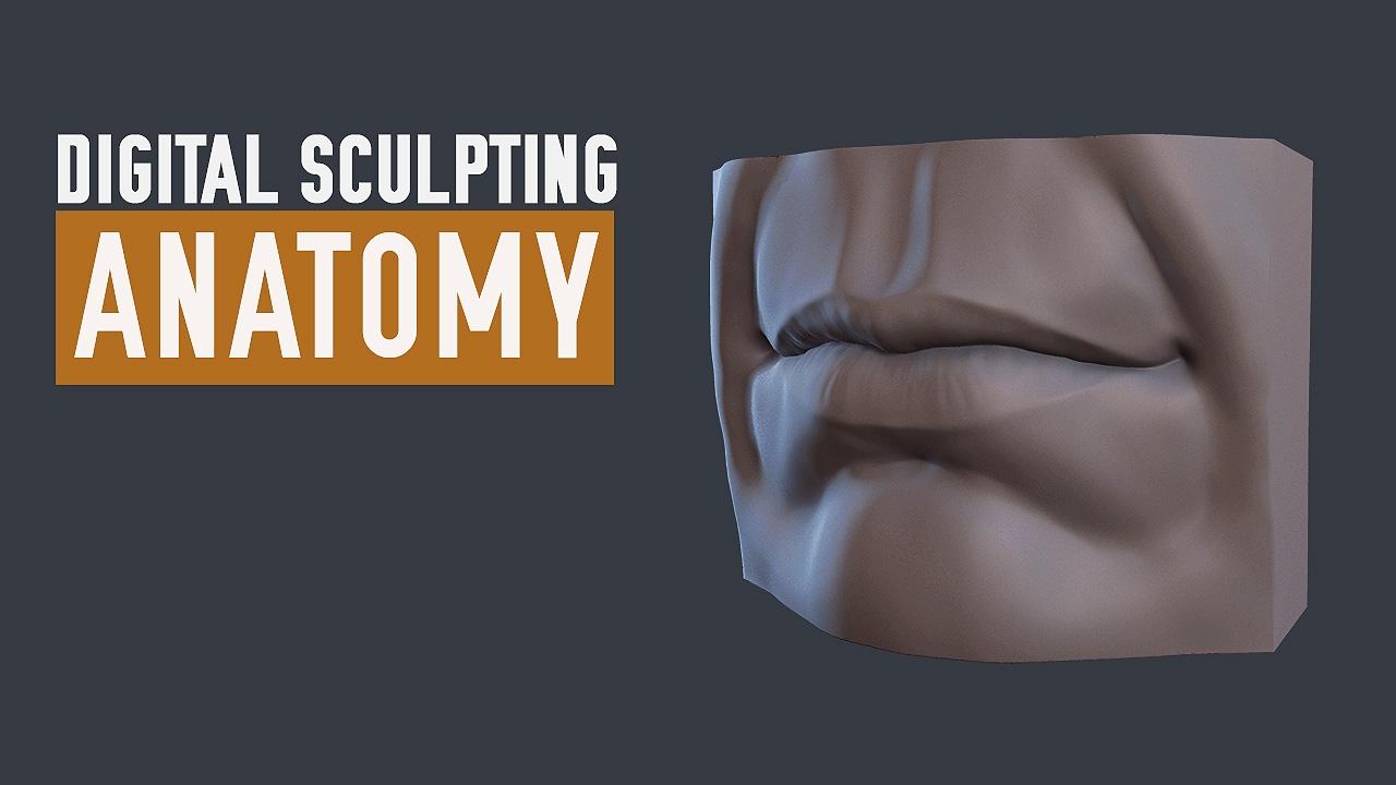ZBrush Human Anatomy - Lips - YouTube