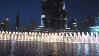 Dubai Dancing Fountains, Sama Dubai Show, 16 May 2015