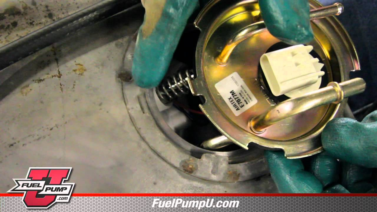 1996 Jeep Grand Cherokee Pcm Wiring Diagram How To Install A Fuel Pump E7077m In A 94 Dodge Van Youtube