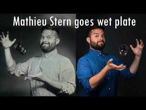 Mathieu Stern In My Studio