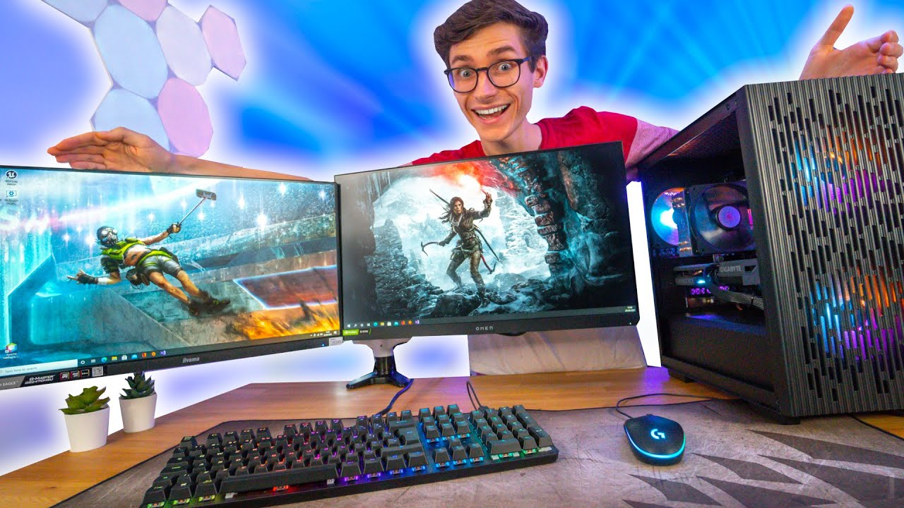 The AFFORDABLE PC Gaming Setup! 🤩 (RTX 3060, i5 11400F, College/University!) | AD
