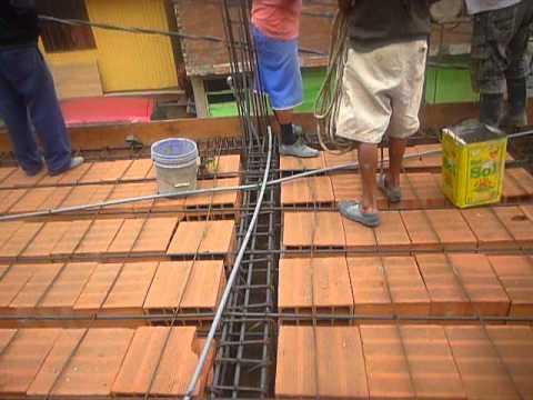 Instalaci n de luz en techo concreto 9 de febrero youtube - Luz de techo ...