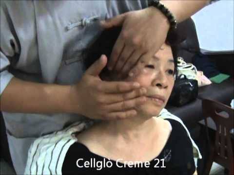 Cellglò Crème 21  Demonstration on Face Whitening and Glow