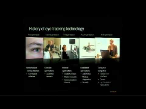 Tobii's Talk At CeBit 2011 On Eye Tracking And Eye Controlled Computers