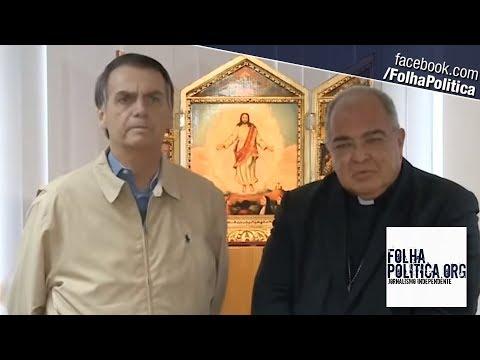 Jair Bolsonaro visita Dom Orani Tempesta, Cardeal e Arcebispo do Rio de Janeiro, e fala sobre..