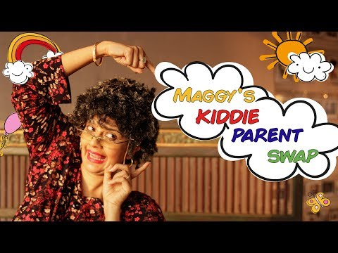 Childrens day, kids talk like their parents in 'Maggy Gets Them Role Reversed'