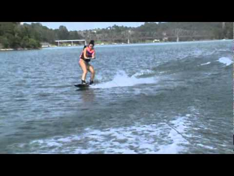 crazy wakeboard faceplant