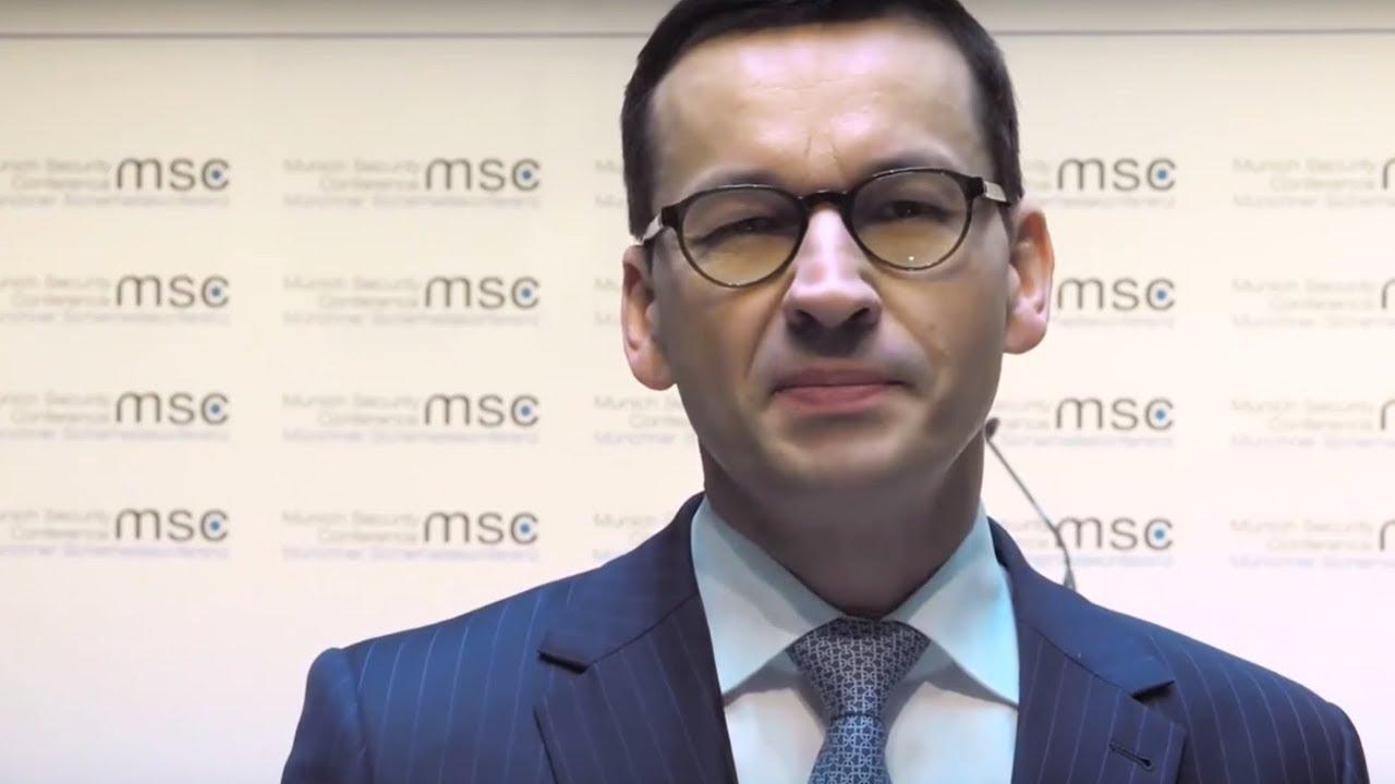 Prawica broni premiera: Morawiecki powiedział w Monachium prawdę historyczną