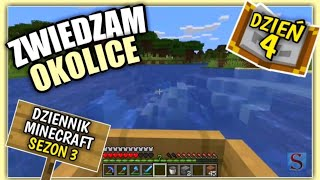 Dziennik z Minecraft (PL) Zwiedzanie Okolicy - Sezon 3 Dzień 4