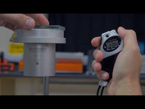 How To Measure Viscosity Using Elcometer Flow Cups