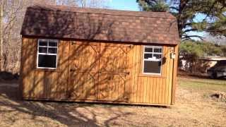 Graceland Portable Buildings Side Lofted Barn Review