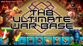 Clash of Clans - Town Hall 8 (TH8 Ultimate War Base)