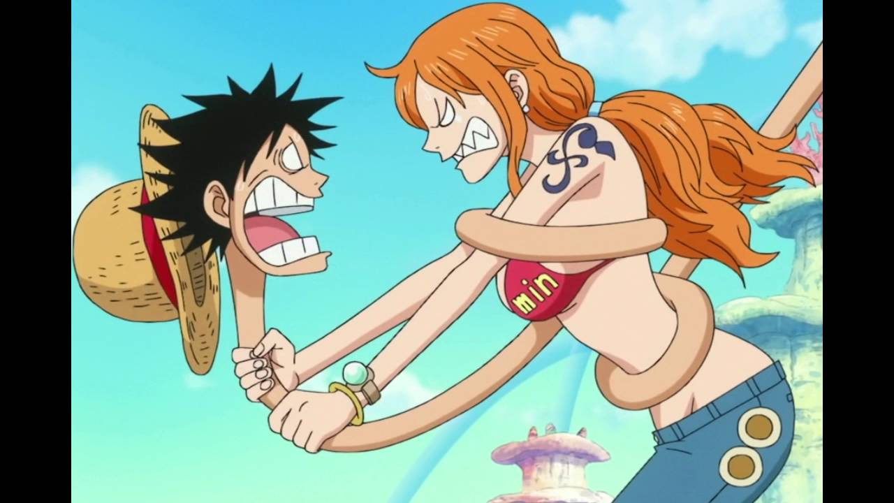 One Piece Sweet Moment Luffy with Nami, New 2016 - YouTube