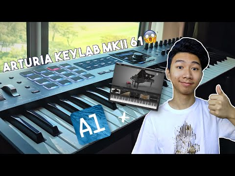 Unboxing my Arturia KeyLab MkII 61 + Reviewing Analog Lab V