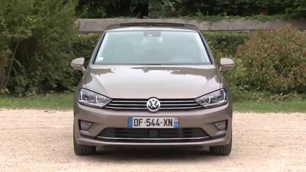 essai volkswagen golf sportsvan 1 4 tsi 150 dsg7 youtube. Black Bedroom Furniture Sets. Home Design Ideas
