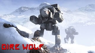 Mechwarrior Online - Epic Boss (Dire Wolf)
