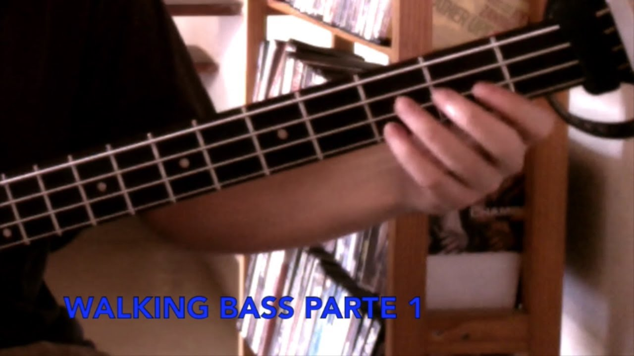 Curso completo de Walking Bass - Bajo Caminante Parte 1