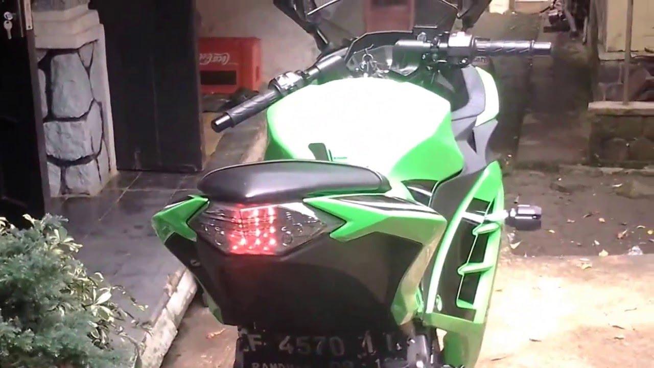 61 Modifikasi Lampu Motor Ninja 250 Terkeren Gedheg Winglet 250fi Warna Standar Kawasaki Fi Se Knalpot Racing Pdk Thailand Stoplamp
