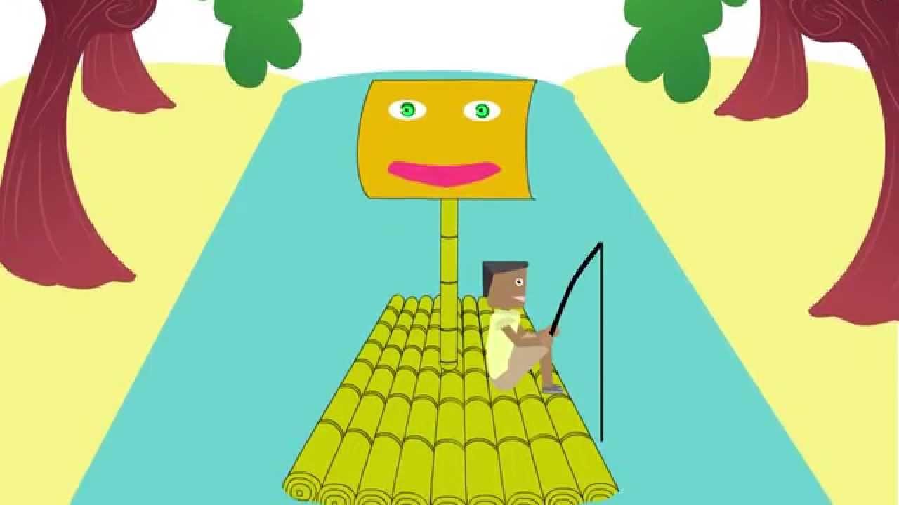 Animasi Jangan Buang Sampah Di SUNGAI YouTube