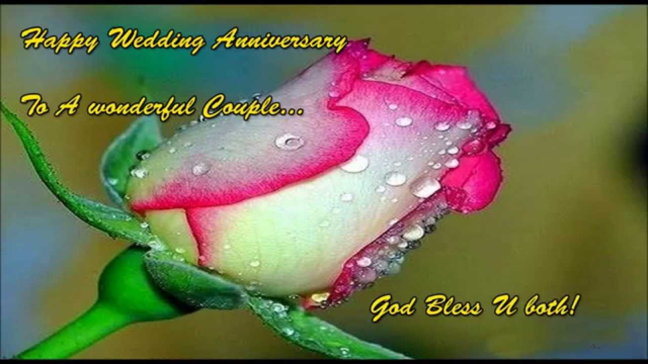 Wedding Anniversary Video Messages