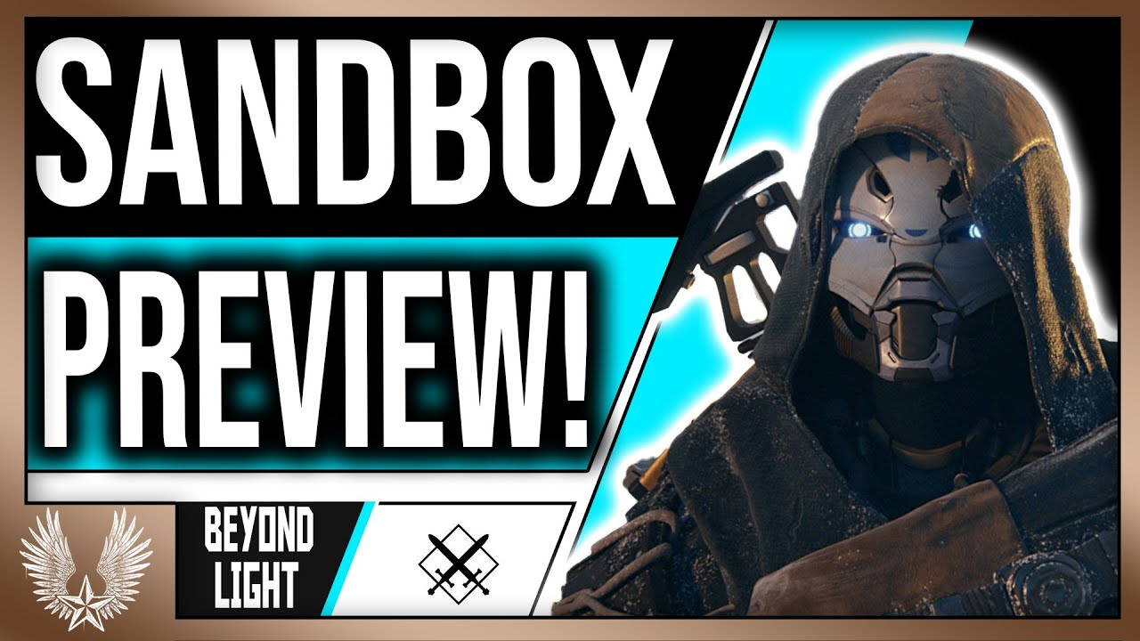 Download Massive Sandbox changes coming to Beyond light (Hand cannons, Adept, ,snipers, scouts, and more)