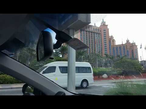 Dubai Atlantis Hotel View from Car
