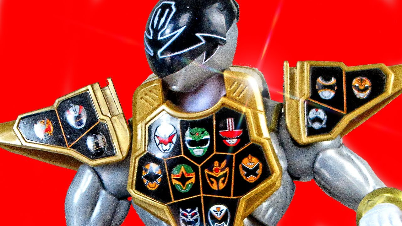 Armored Super Mega Silver Ranger Review Power Rangers