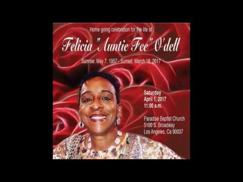 Auntie Fee Home Going Celebration