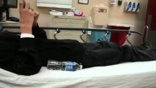 falling hospital moving bed