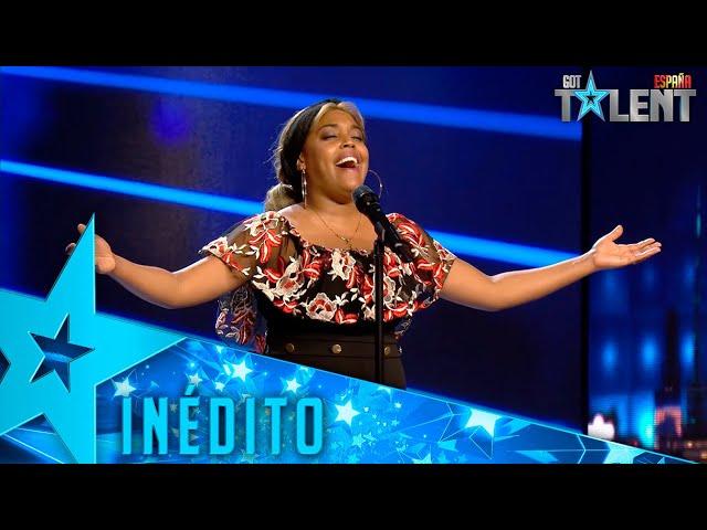 PURA EMOCIÓN: La VOZ de esta concursante te va a dejar en shock   Inéditos   Got Talent España 2021