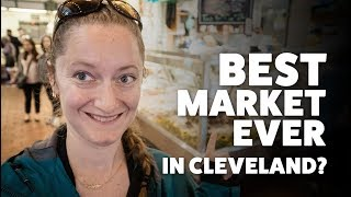 Exploring Cleveland: Stained Glass Windows, Amazing Food, Breweries, & a Cemetery