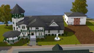 Sims 3: Victorian Coastal Lot