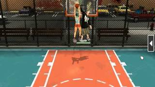freestyle 2 street basketball dunk block catch training