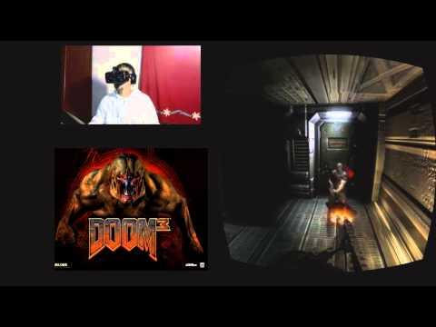 Doom 3 - Oculus Rift DK2 - Pequeña muestra.