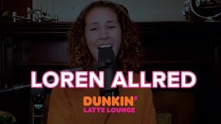 Loren Allred Performs At The Dunkin Latte Lounge