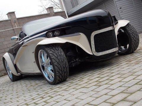 Roadster Shark из ГАЗ 20 ПОБЕДА двигатель 3,2 л