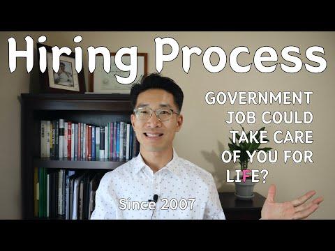 GOVERNMENT JOB HIRING PROCESS (Please Watch Dec. 1st Content)