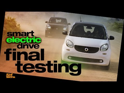 The New Generation smart electric drive on Final Testing in Arizona (German)