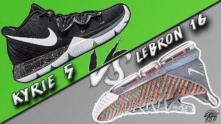 Nike Kyrie 5 vs Lebron 16! b759c30fa