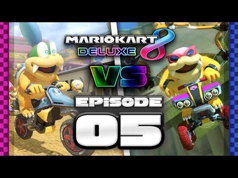A DIFFERENT ERA Mario Kart 8 Deluxe Online Team Races - Ep 5 w/ TheKingNappy + Friends!