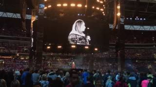 Adele speaks out about the treatment of Grenfell Tower residents at her Wembley concert