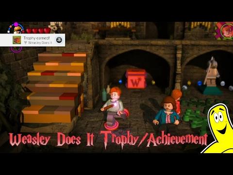 "Lego Harry Potter 5-7: ""Weasley Does It"" Trophy/Achievement - HTG"