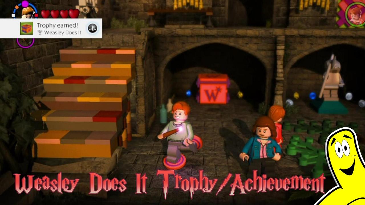 Lego Harry Potter 5 7 Weasley Does It Trophy Achievement Htg Youtube