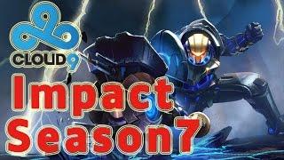 C9 Impact Jayce TOP vs Kled Patch 6.24