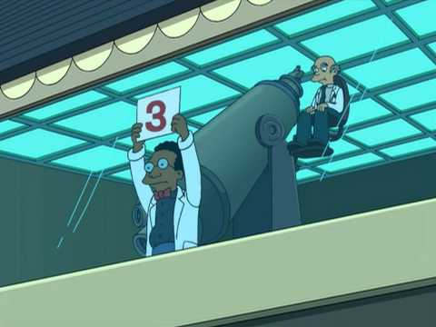 Futurama Quantum Finish