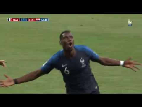 Tercer gol de Francia | Francia vs Croacia