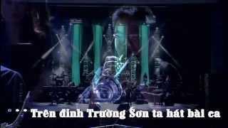Trên Đình Trường Sơn Ta Hát [Karaoke-Lyrics] | Liveshow Đêm Nhạc Trọng Tấn | Full HD 1080p