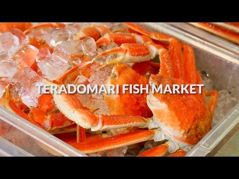 Teradomari fish market, Niigata | One Minute Japan Travel Guide
