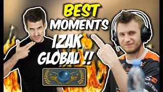 IZAK WBIJA GLOBALA !! BYALI + AWP, POLISH PRO LEAGUE - CSGO BEST MOMENTS